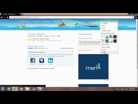 How to delete a Hotmail (Windows Live Messenger) Account (HD)