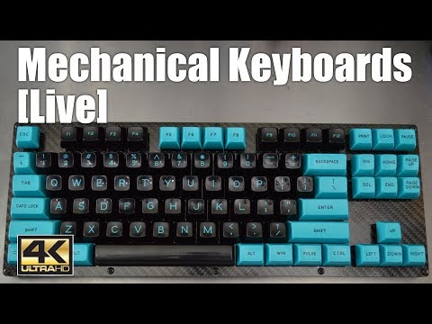 [Livestream] Mechanical Keyboards Live! - Silent gaming TKL with Carbon Fiber plates (Part2)