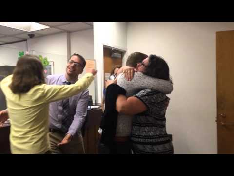 Eric Braman and Kris Katkus' families react to them applying for a marriage license for