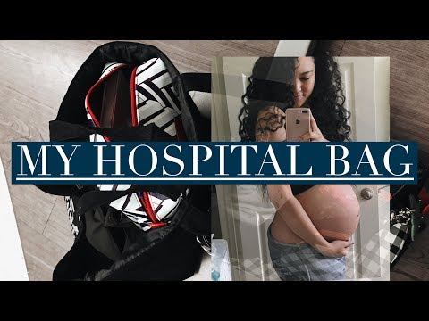 WHAT I PACKED INSIDE MY HOSPITAL BAG AND WHY IT'S FILMED IMPERFECTLY!