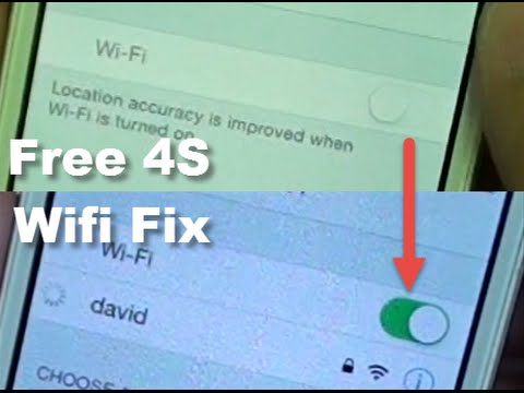 iPhone 4S: Free Fix WiFi Grayed Out and Disable Issue Easily
