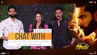 Exclusive Interview:  Ajay Devgn, Parmish Verma, Sonam Bajwa | Singham | 9th August