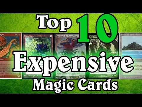 MTG Top Ten: Expensive Cards