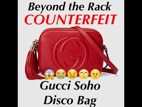 Gucci soho disco bag | Beyond the Rack | COUNTERFEIT