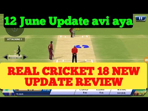Real cricket 18 1.4 update Review