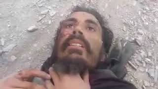 Pakistan terrorist caught by Afghan army