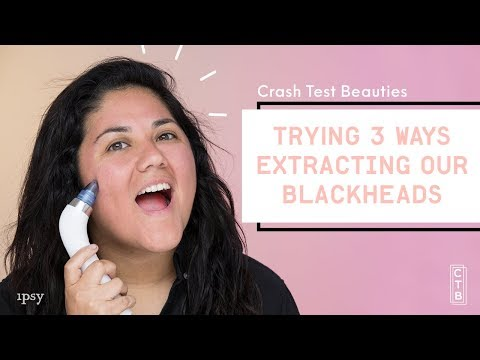 We Tested Three Ways to Extract Blackheads   Crash Test Beauties
