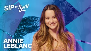 "ANNIE LEBLANC | ""What's your biggest fear?"" 