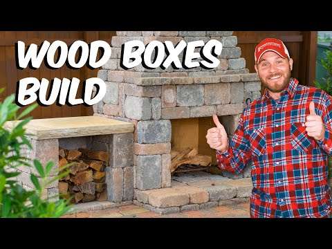 Build with Roman - Fireplace Wood Boxes DIY Build