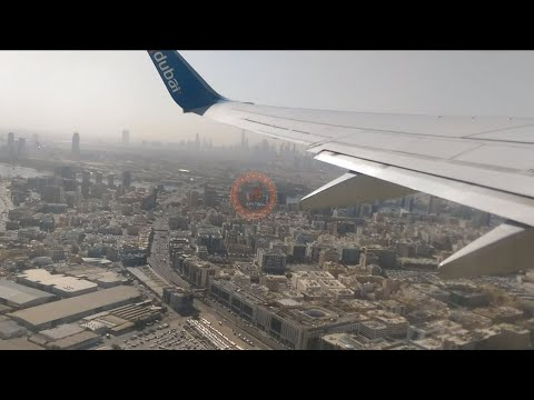 Flying From Dubai International Airport To My City Karachi By Fly Dubai Airlines