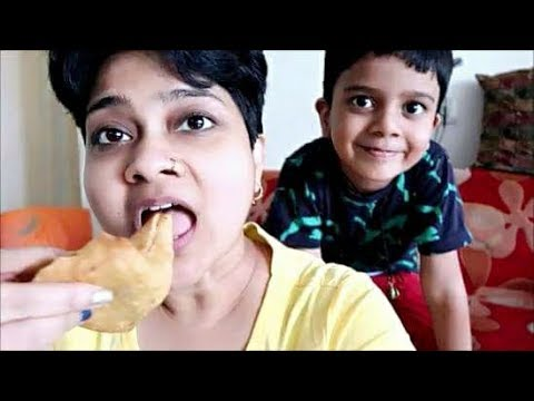 बाज़ार का Deep Fried समोसा-SAMOSA कर देगा आपको इतना पतला | Vlog4 | #roarofshernishalini