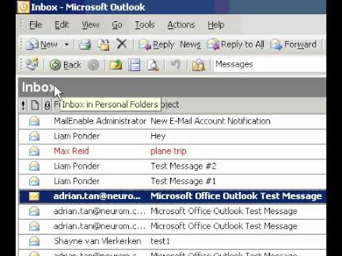 Microsoft Office Outlook 2003 My Navigation Pane is missing