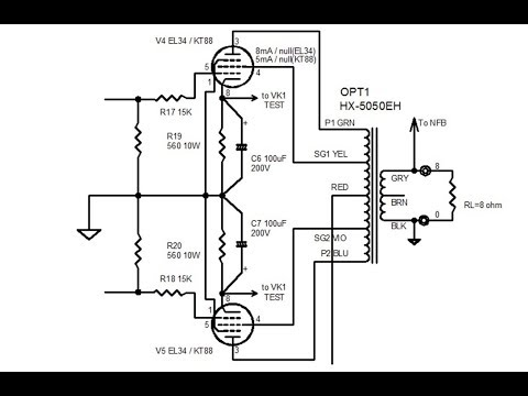 tube audio lecture #12, how to build tube amplifiers part 4, KT88 OPT wiring and soldering, FLUXION
