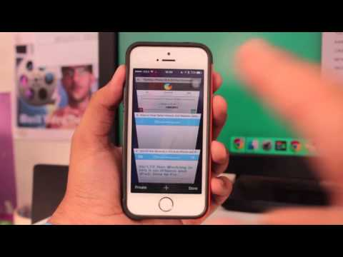 How to Enable Private Browsing in iOS 9 Safari on iPhone or iPad