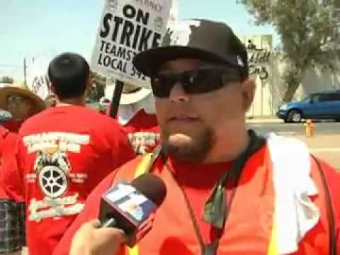 NBC/El Centro, CA: EMTs and paramedics at Gold Cross Continue Strike