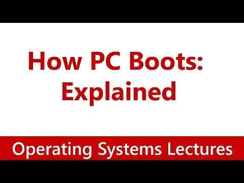 Operating System #10 PC Booting: How PC Boots | Explained in Detail