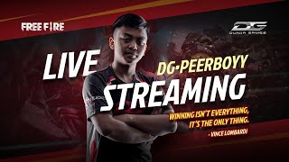 [ LIVE ] FREE FIRE WITH DG PEERBOYY