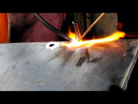 How to weld copper tube with steel | braze copper with steel