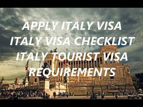 Italy Visa Documents Check list | Italy Visa Requirements for India Citizens