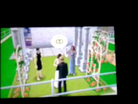 A Sims 3 Wedding (3DS)
