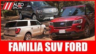 """Probamos La Familia De Suv De Ford ¿cuál """"e"""" Nos Gustó Más?"""
