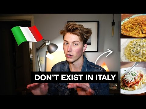 5 Italian Foods That DON'T Exist in Italy