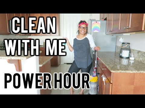 Power Hour Deep Clean With Me! 2017