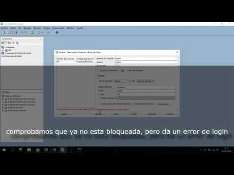 Fix ERROR user system ORA-28000 - ORA-01017