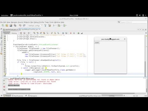 Files.lines() read text file returned by JavaFX FileChooser