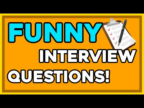 Funny Interview Questions! Top 5 Funny Trick Questions!