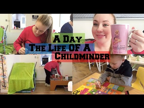 A Day In The Life Of A Childminder With A Newborn!
