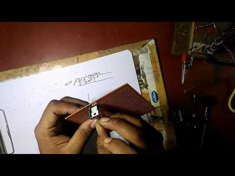 How to make a 12v to 9v converter  at home...