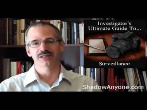 5 Don'ts for Surveillance.  Avoid these five things as a Private Investigator.