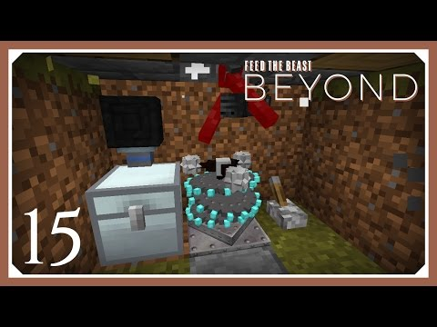 FTB Beyond | Wither Skeleton Skull Farm! | E15 (Modded Minecraft 1.10.2 Survival Let's Play)