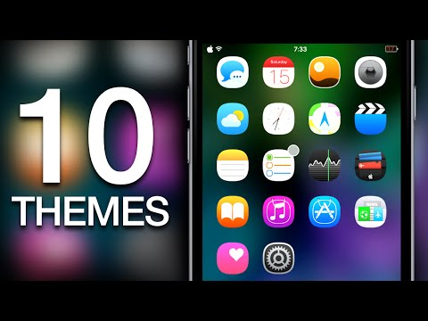 NEW Top 10 BEST iOS 9 & iOS 8 Cydia WinterBoard Themes For iPhone & iPod
