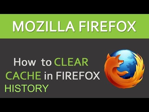 How to Clear your Cache, History and Delete Cookies on Mozilla Firefox