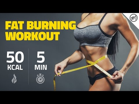 How to burn 50 Calories in 5 Minutes – No Music