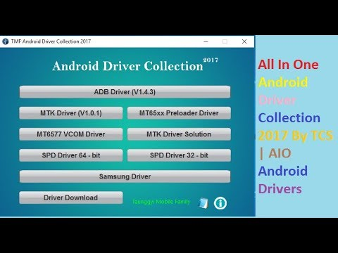 All In One  Android Driver Collection 2017 By TCS | AIO Android Drivers