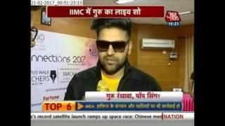 Guru Randhawa  Interview with Aaj tak