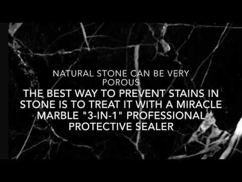 How To Clean Granite or Marble Countertop