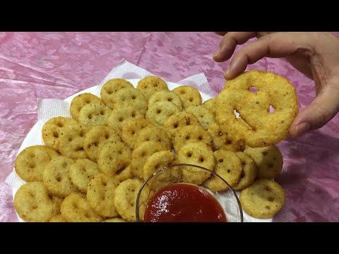 How To Make Potato Smiley   Easy Snacks For Kids Lunch Box