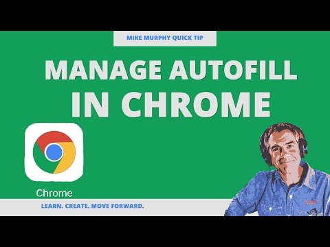 Quick Tip: Manage Autofill Settings in Chrome