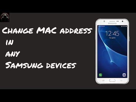 Change MAC in Samsung devices