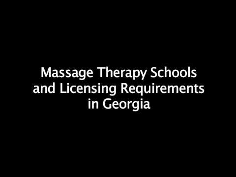 Massage Therapy School Requirements in Georgia