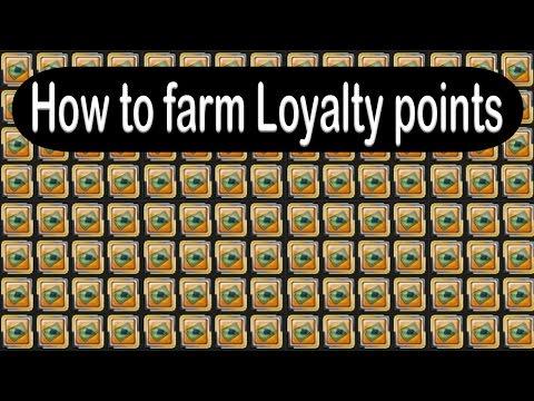 How/Where to Farm Loyalty Points | Aura Kingdom