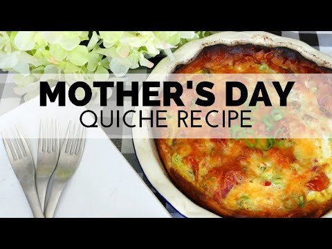 How to Make a Sausage, Bacon and Cheese Quiche