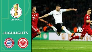 Thrill, VAR, Overtime | FC Bayern vs. Eintracht Frankfurt 1-3 | Highlights | DFB-Pokal Final 2017/18