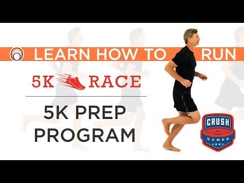 Learn How to Run's 5K Prep Program - the Official Training Program of the Crush 5K Race