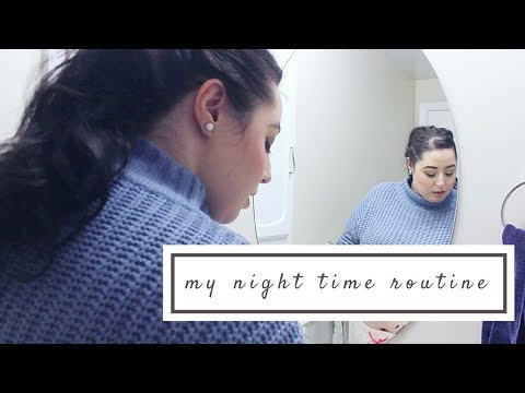 Night Time Routine | Skin care routine for dry skin
