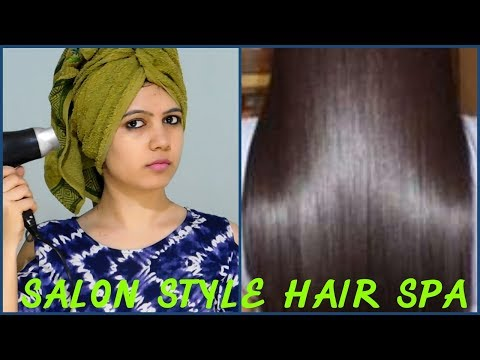 Hair spa at home/How to do salon style hair spa for silky Shiny straight hair||TipsToTop By Shalini
